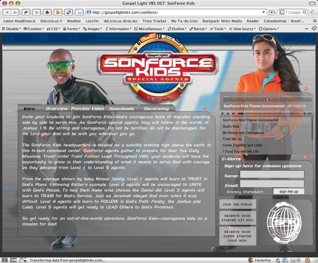 SonForce Kids